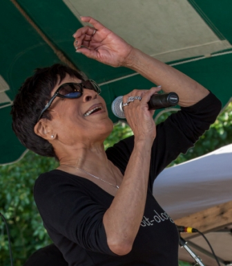 Bettye LaVette at the Clearwater Festival.  Photo credit: Econosmith