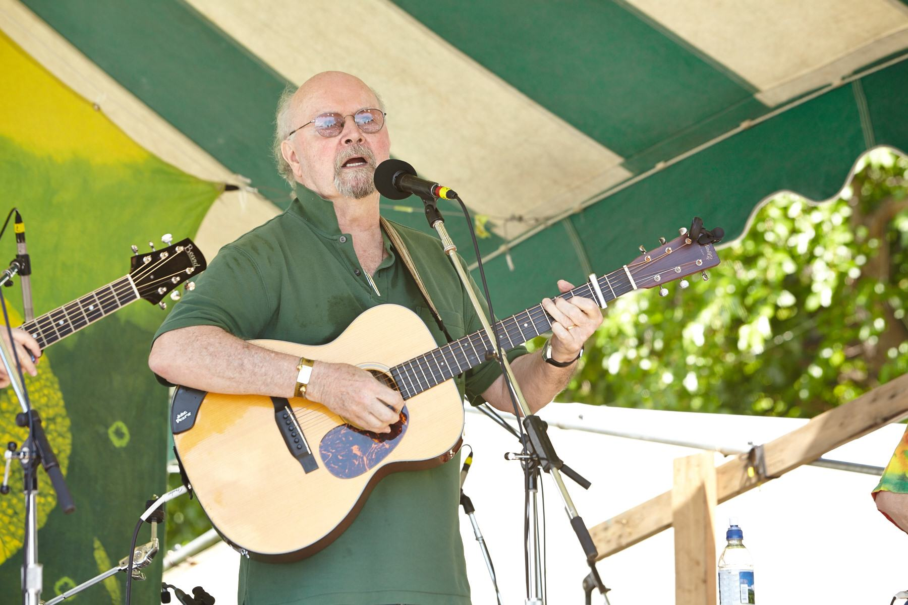 Tom Paxton at the Clearwater Festival.  Photo credit: Gus Philippas