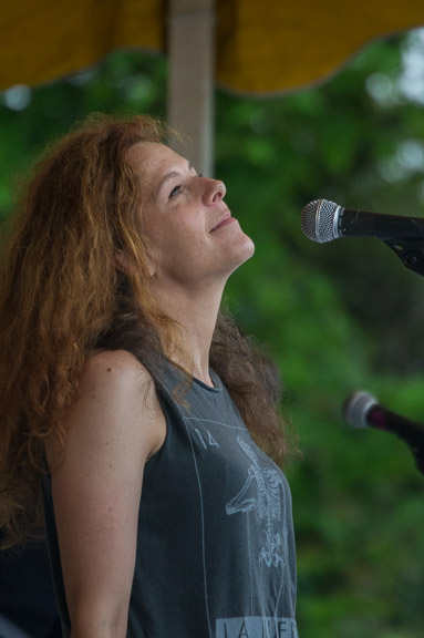 Neko Case at the 2015 Clearwater Festival.  Photo credit:  Econosmith