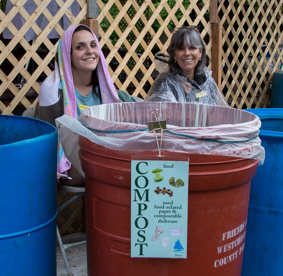 Zero Waste Volunteers.  Photo credit:  Econosmith
