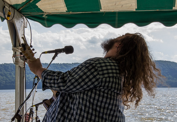 Matt Andersen at the 2015 Clearwater Festival.  Photo credit:  Econosmith