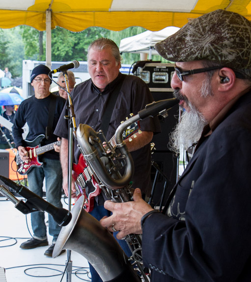 Los Lobos at the 2015 Clearwater Festival.  Photo credit:  Econosmith