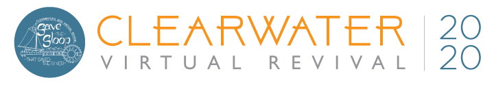 Clearwater's 2020 Virtual Revival Logo